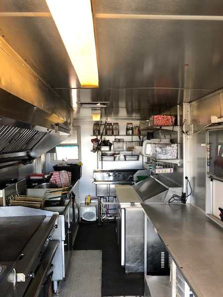 Used Food Truck Layout - For Sale