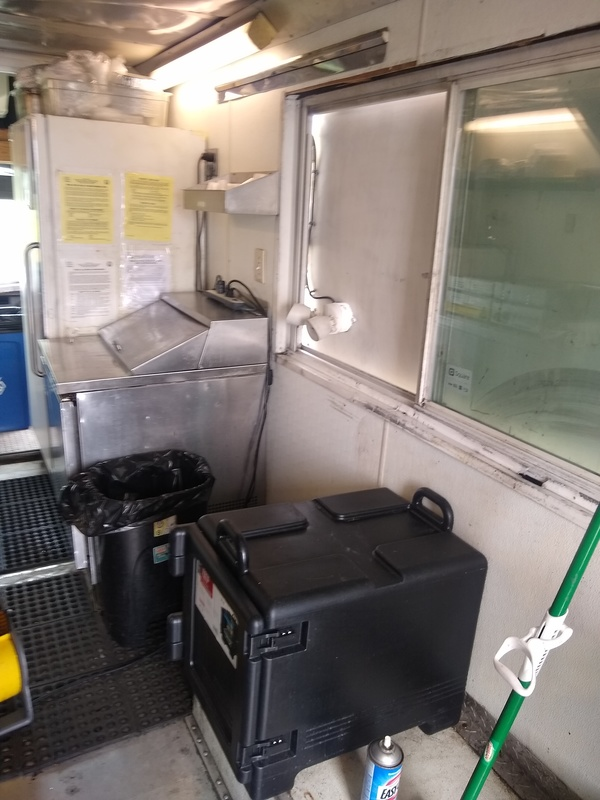Food Truck Inside of Kitchen For Sale