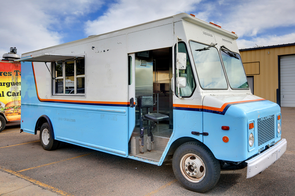 used food truck for sale near me