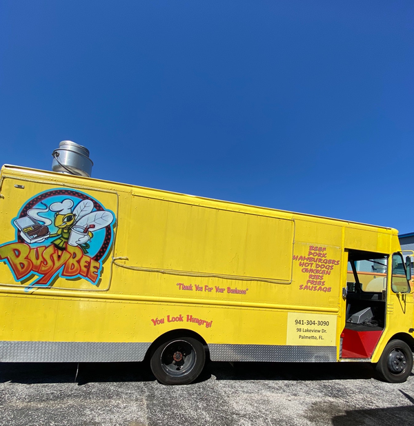 Food Truck For Sale Side