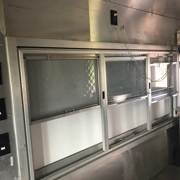 Used Food Truck Serving Window