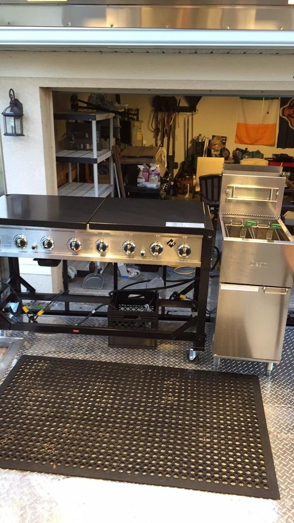 Back Porch Equipment for Used Food Trailer