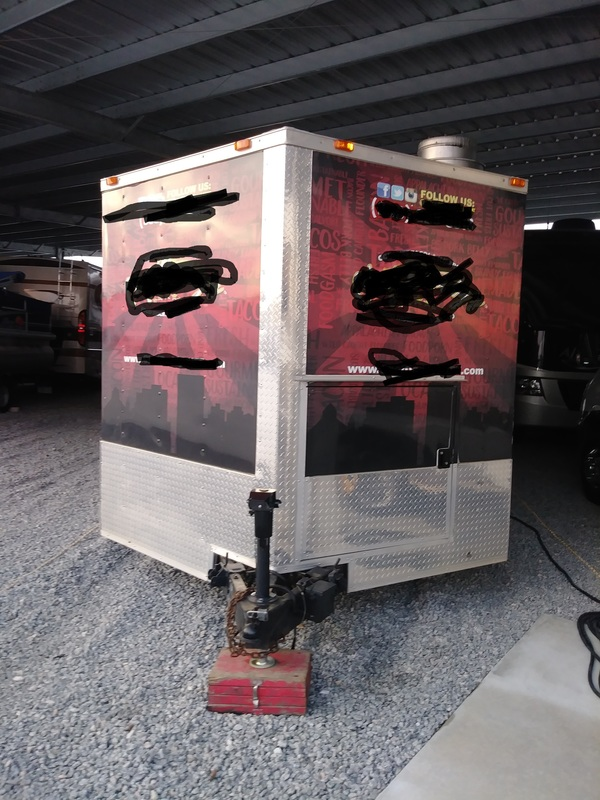 buy a used food trailer