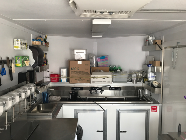 2016 Custom Freedom Trailer For Sale Tampa Bay Food Trucks