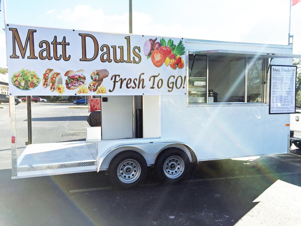 Exterior of Wells Craft Trailer