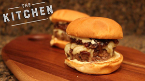 Bacon and Onion Jam Sliders from The Kitchen by Devin Davis Food Truck