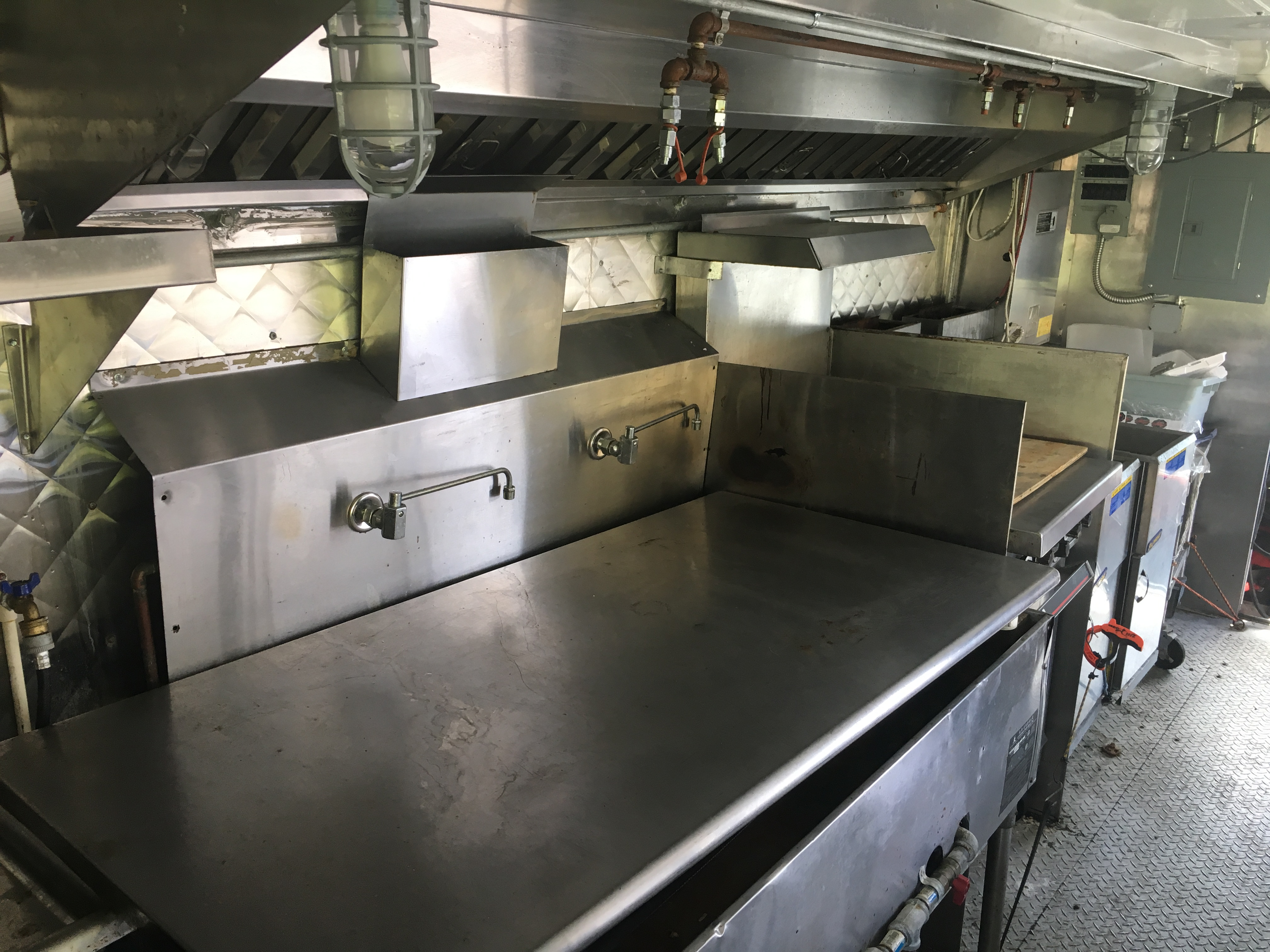 Used Food Truck For Sale Burners