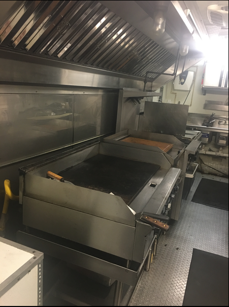 Flattop in Food Trailer For Sale