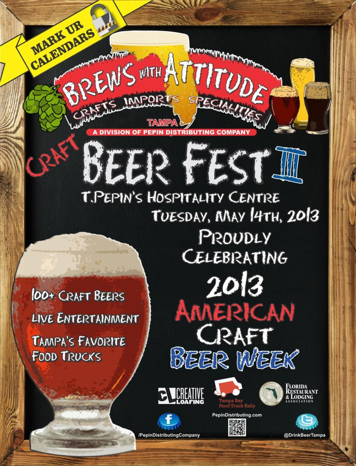 Brews with Attitude Craft Beer and Food Truck Festival