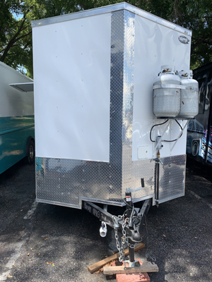 Brand New White Trailer for Sale