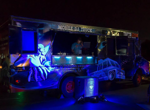 Mobile DJ Truck in Tampa Florida