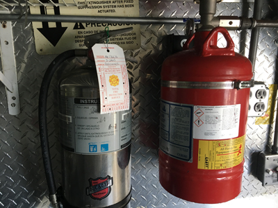 Fire Extinguishers in Food Truck