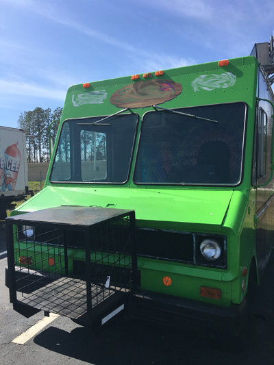 Front View of Food Truck for Sale