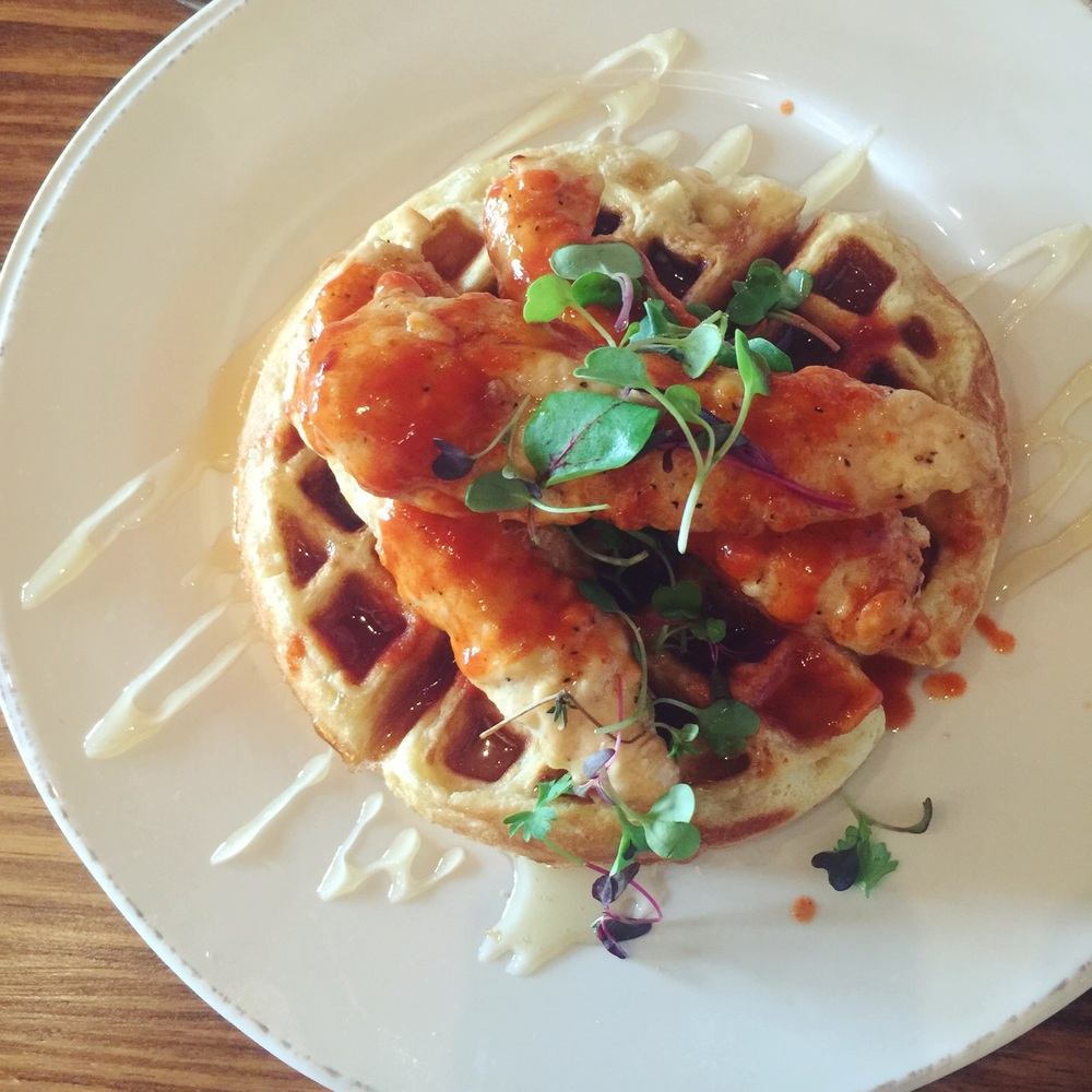 Chicken and Waffles Photography