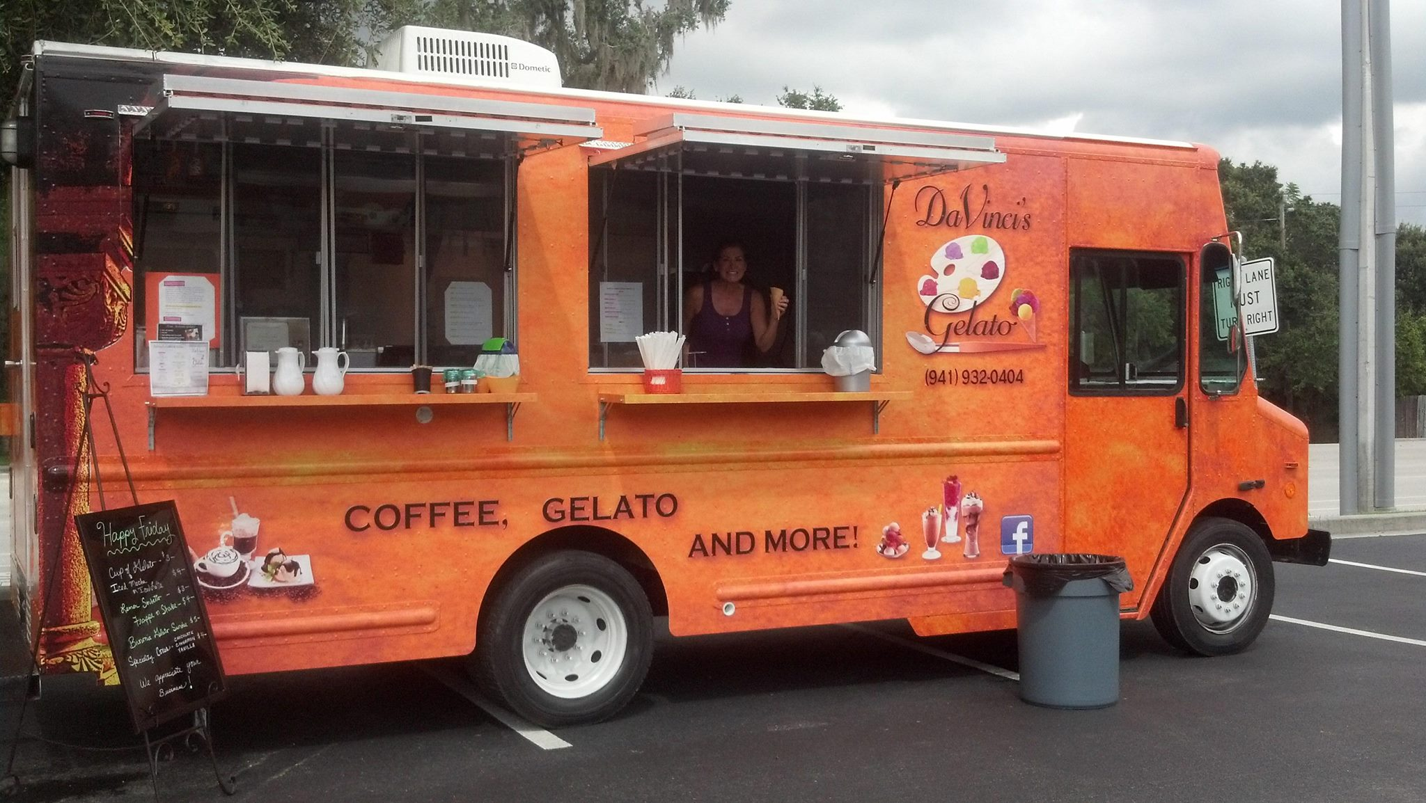 coffee and gelato truck