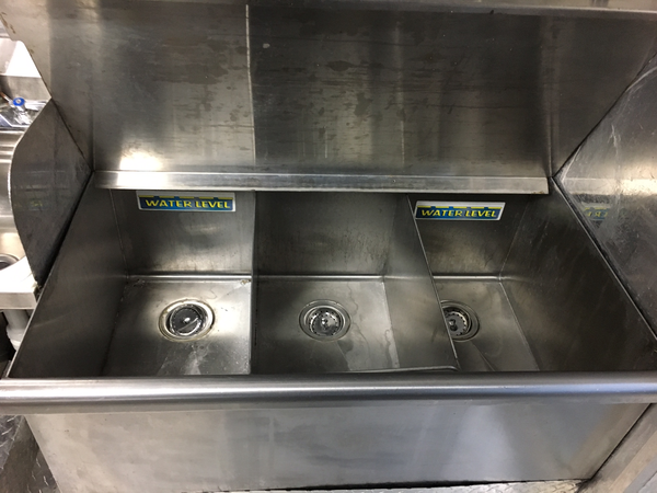 3 compartment sink in Chevy G30