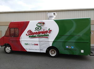 Steveorinos Food Truck Driver Side