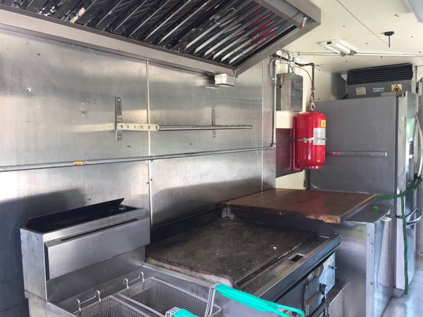 Food Truck For Sale Interior
