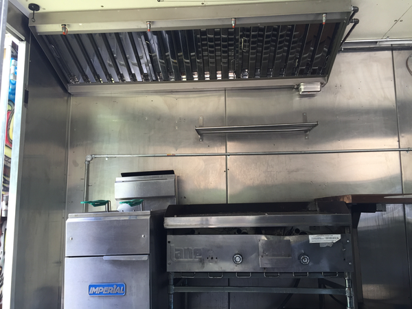 New Hood for p30 Food Truck