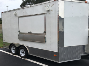 Side view of tailer for sale