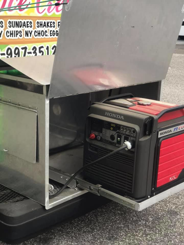 Ice Cream Truck For Sale With Honda Generator