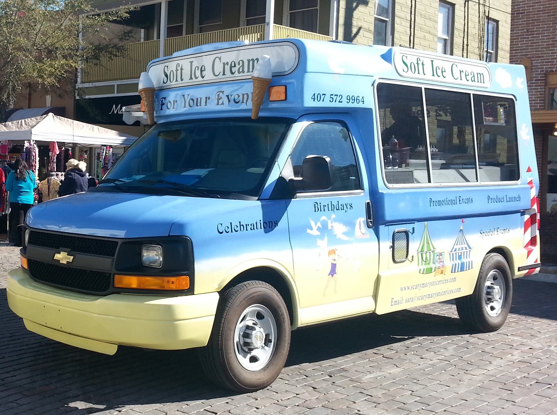 Ice Cream truck for sale 2