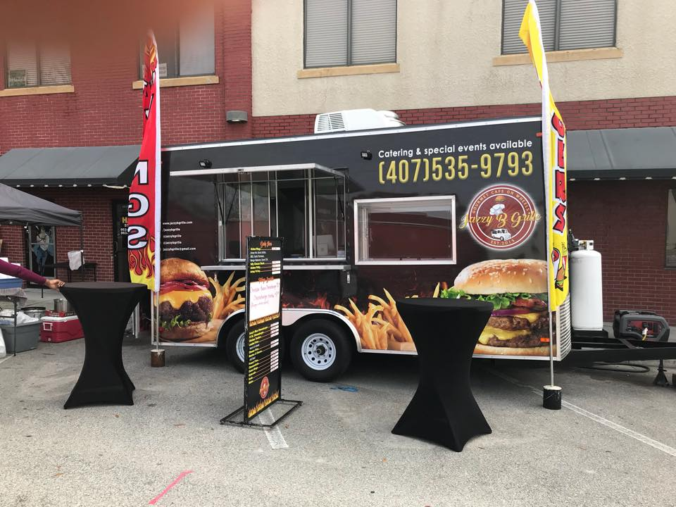 Jazzy B Grille Food Truck
