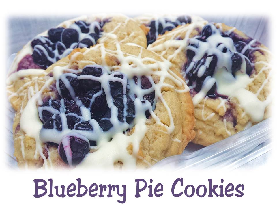 Blueberry Pie Cookies Lizzie Cakes Food Truck