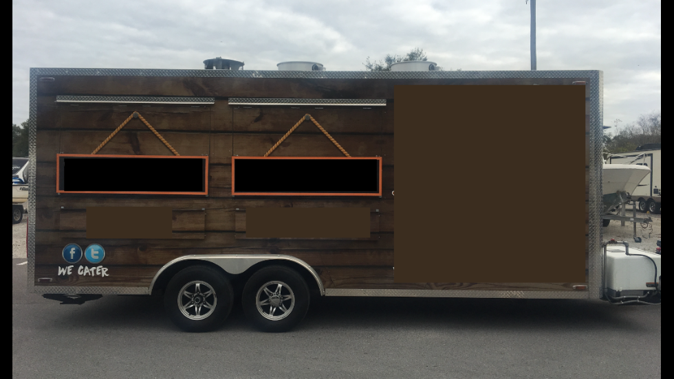 Custom Concession Trailer 1