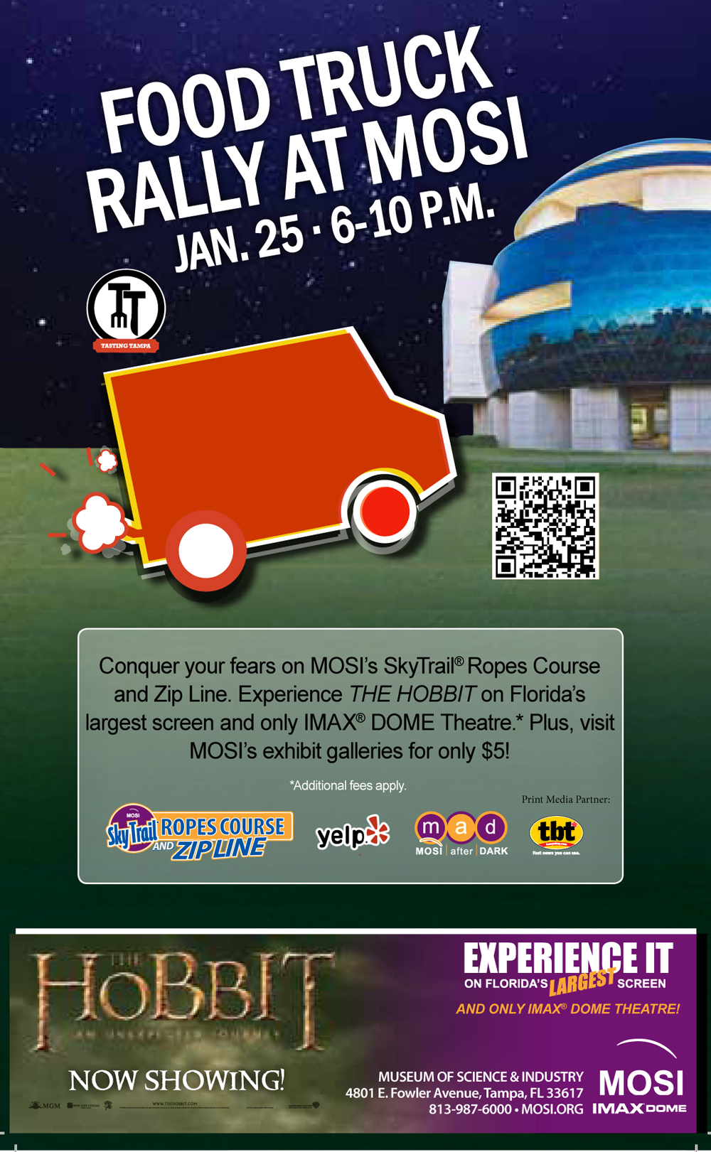 MOSI Food Truck Rally