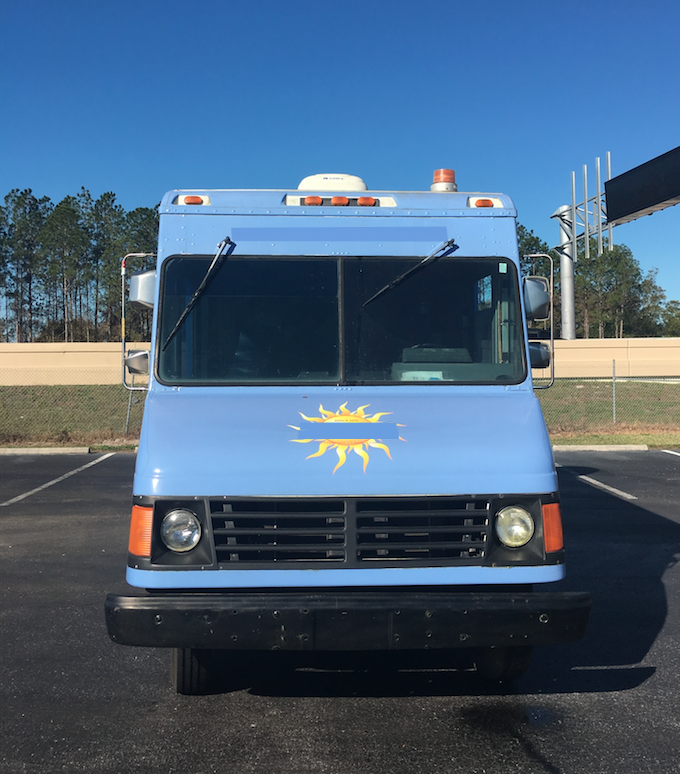 Food truck for sale Chevy stepvan 3