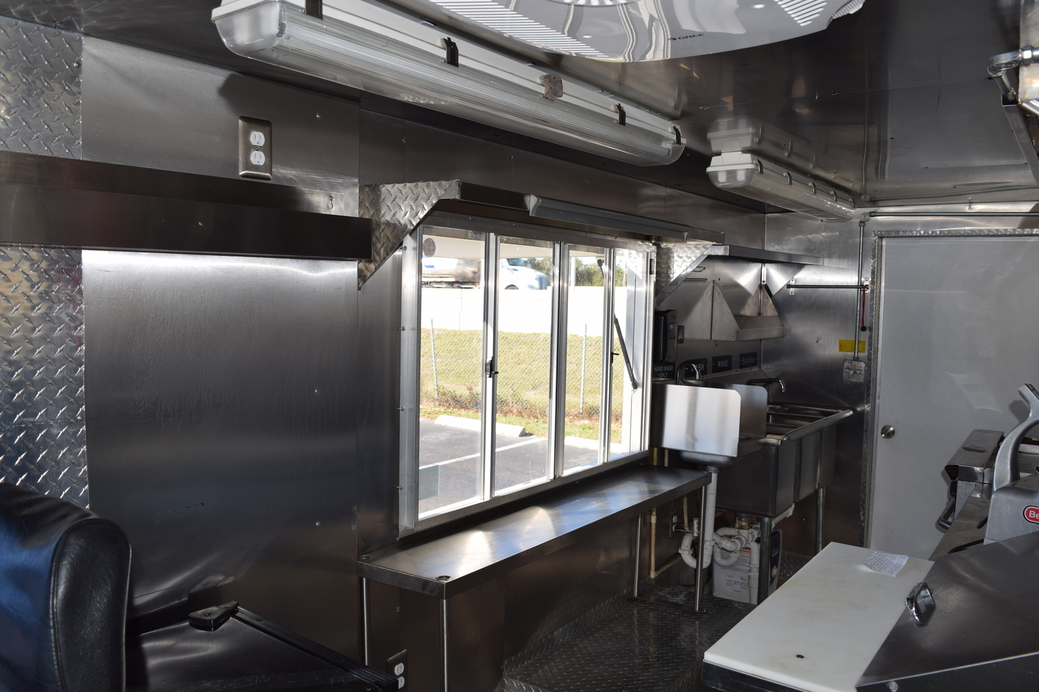 Food truck for sale Chevy stepvan 7