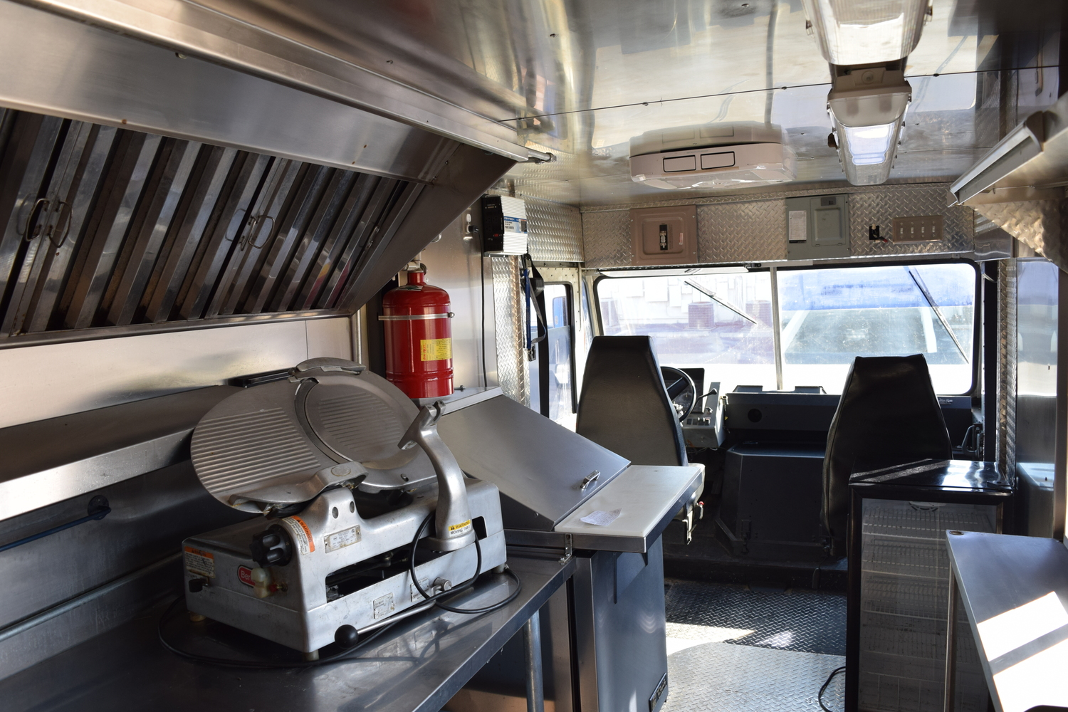 Food truck for sale Chevy stepvan 12