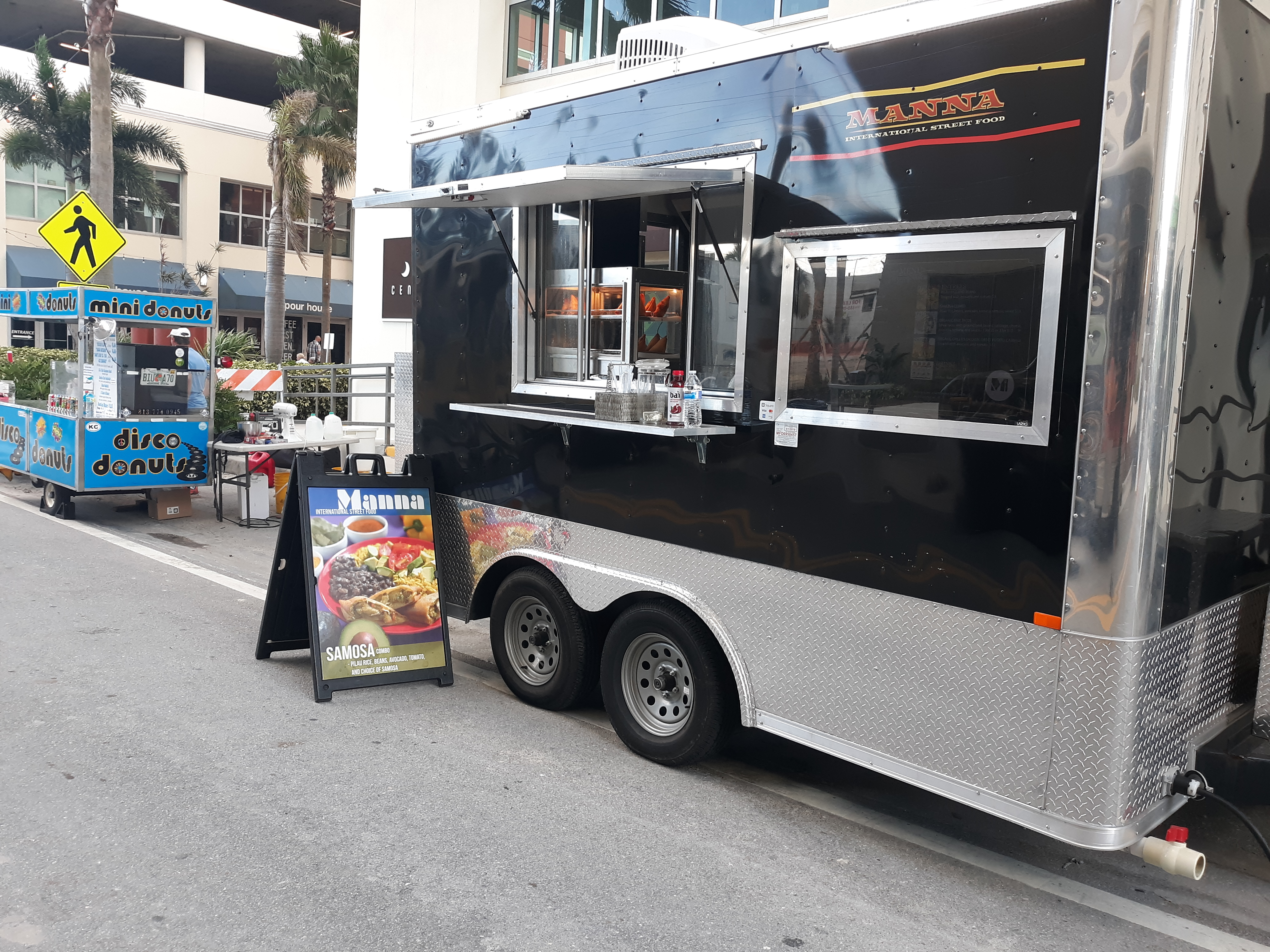 Manna International Street Food Truck