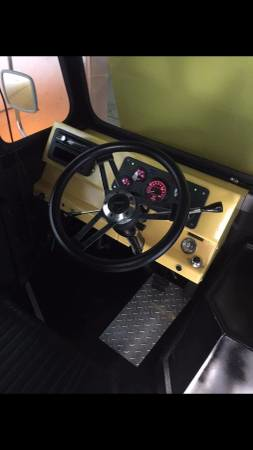Steering Wheel and Driver's Seat