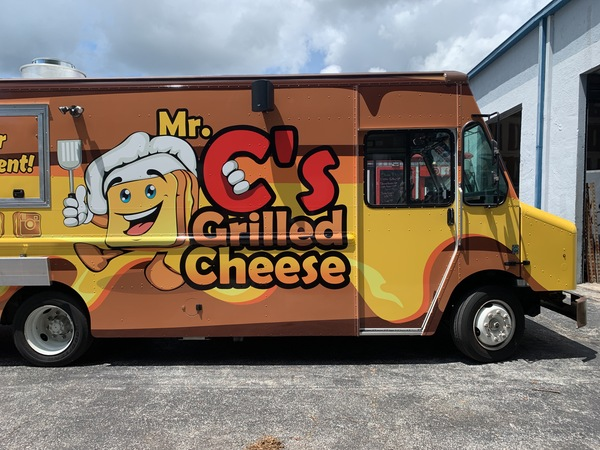 Mr. C's grilled cheese