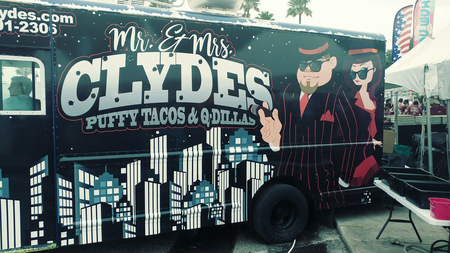 Mr and Mrs Clyde's Truck
