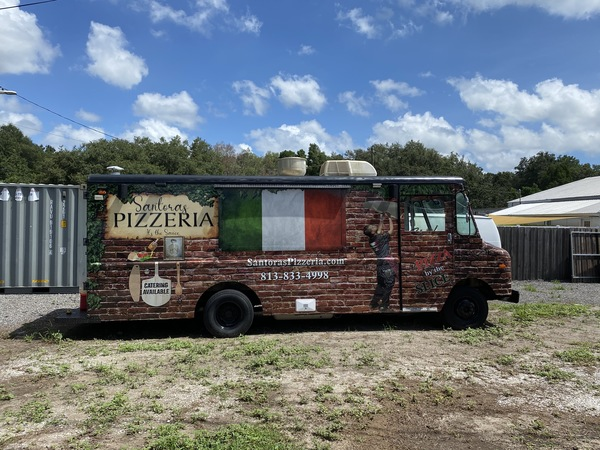 Used Pizza Food Truck For Sale