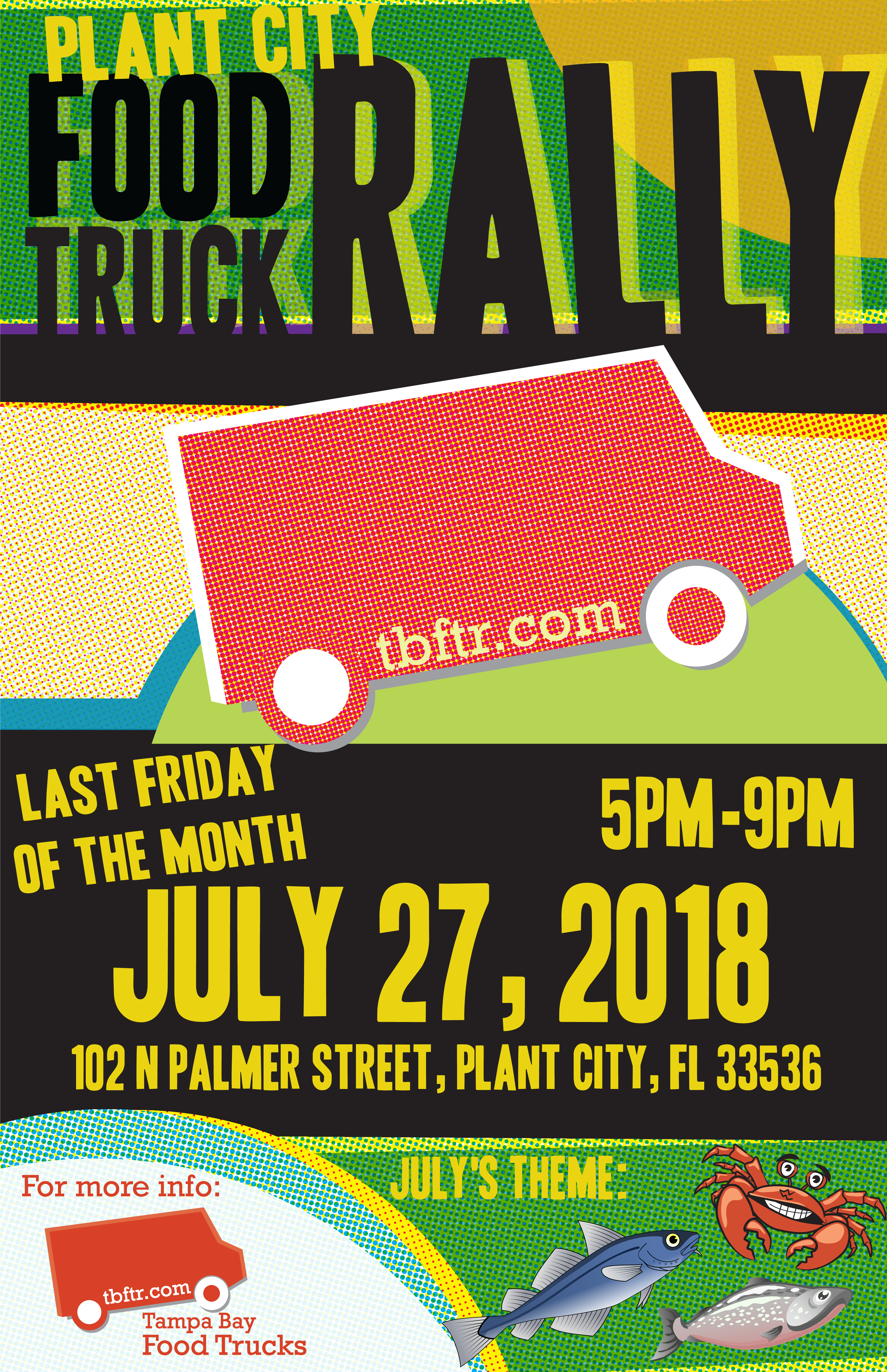 Plant City Food Truck Rally July