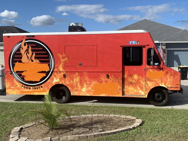BBQ Food Truck For Sale