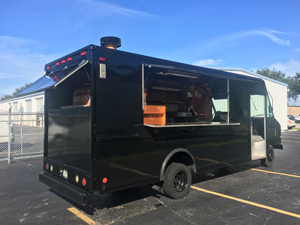 Back side view of Pizza Truck for Sale