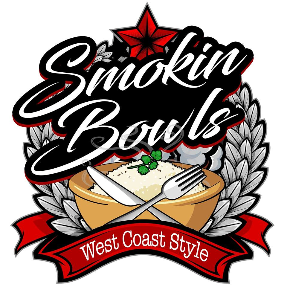 Smokin Bowls Food Truck Logo