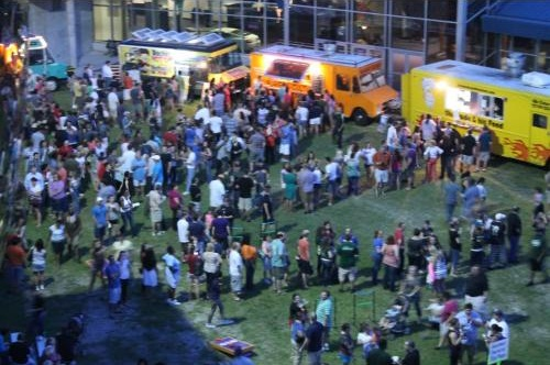 Tampa Food Trucks at a Rally