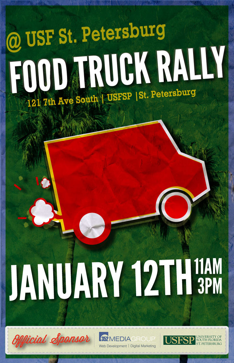 USF St. Petersburg Food Truck Rally