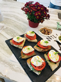 Williamsburg Cucina Caprese Sandwiches Catering