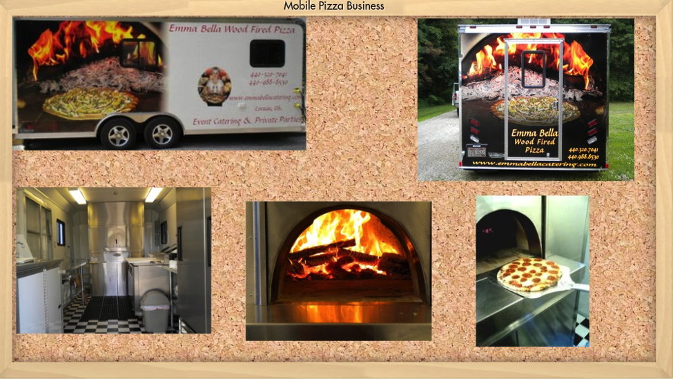 Wood Fire Pizza Trailer