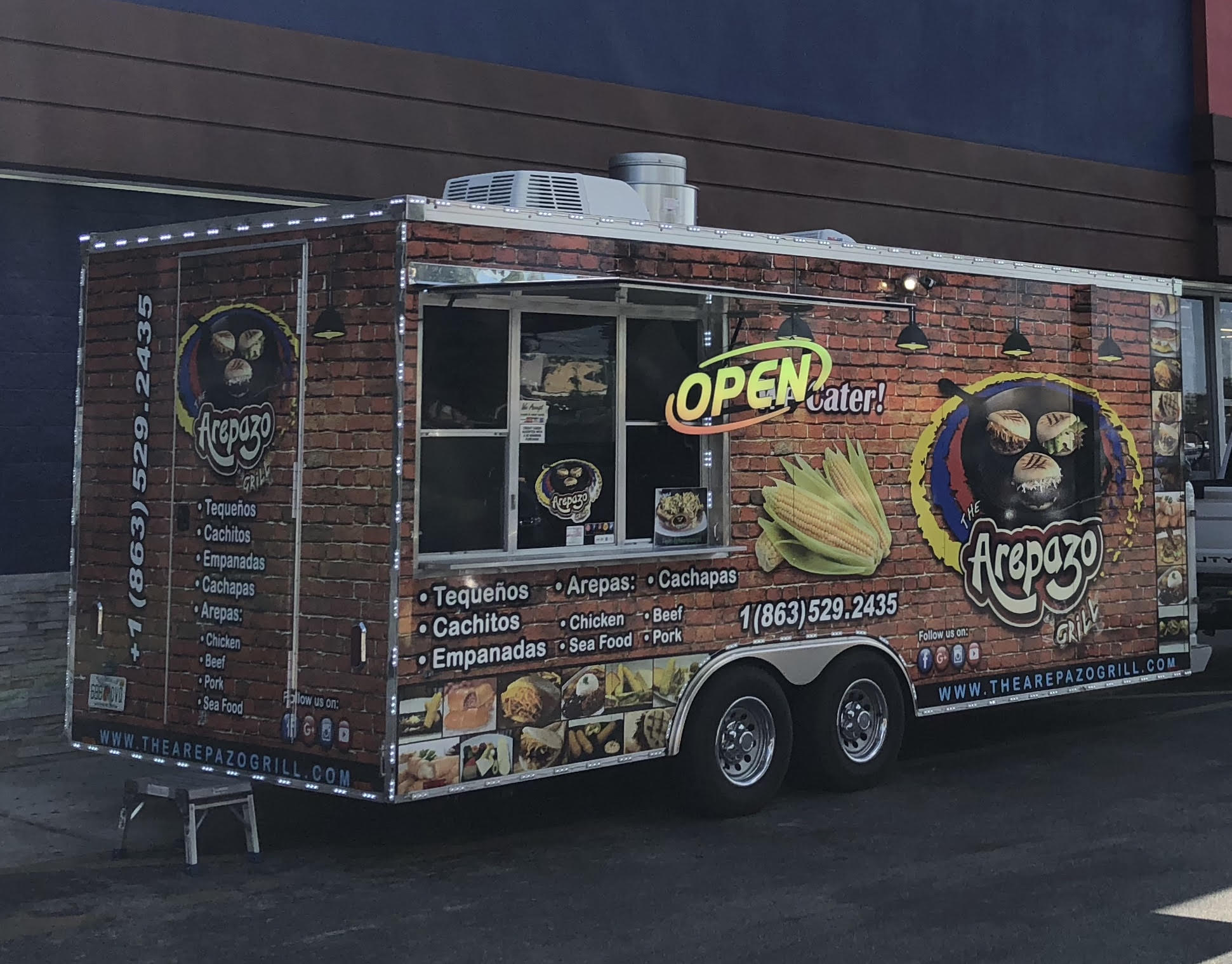 The Arepazo Grill Food Truck