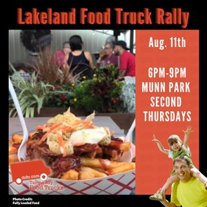 Lakeland Food Truck Rally Poster