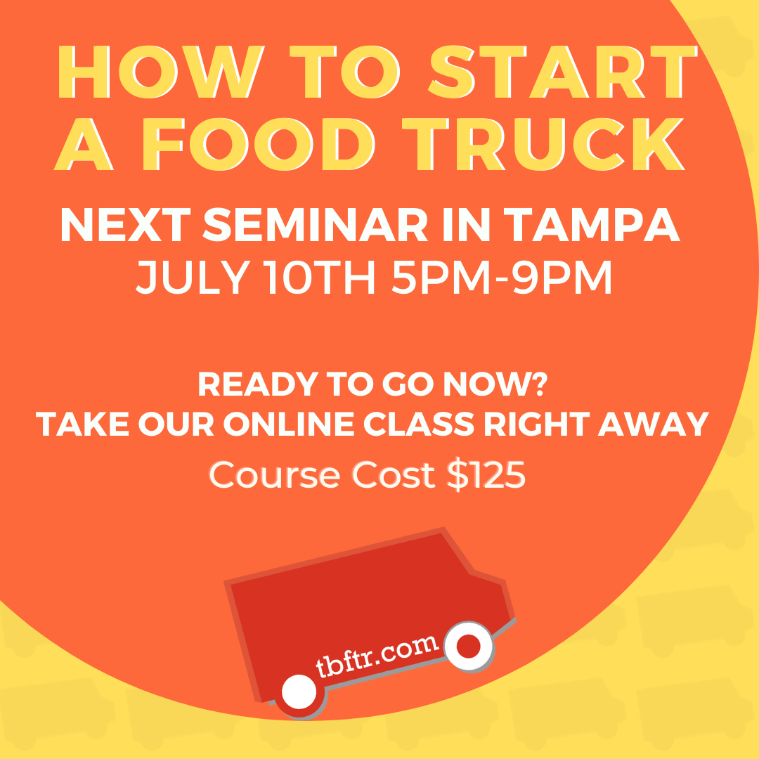 Seminar - How to Start A Food Truck