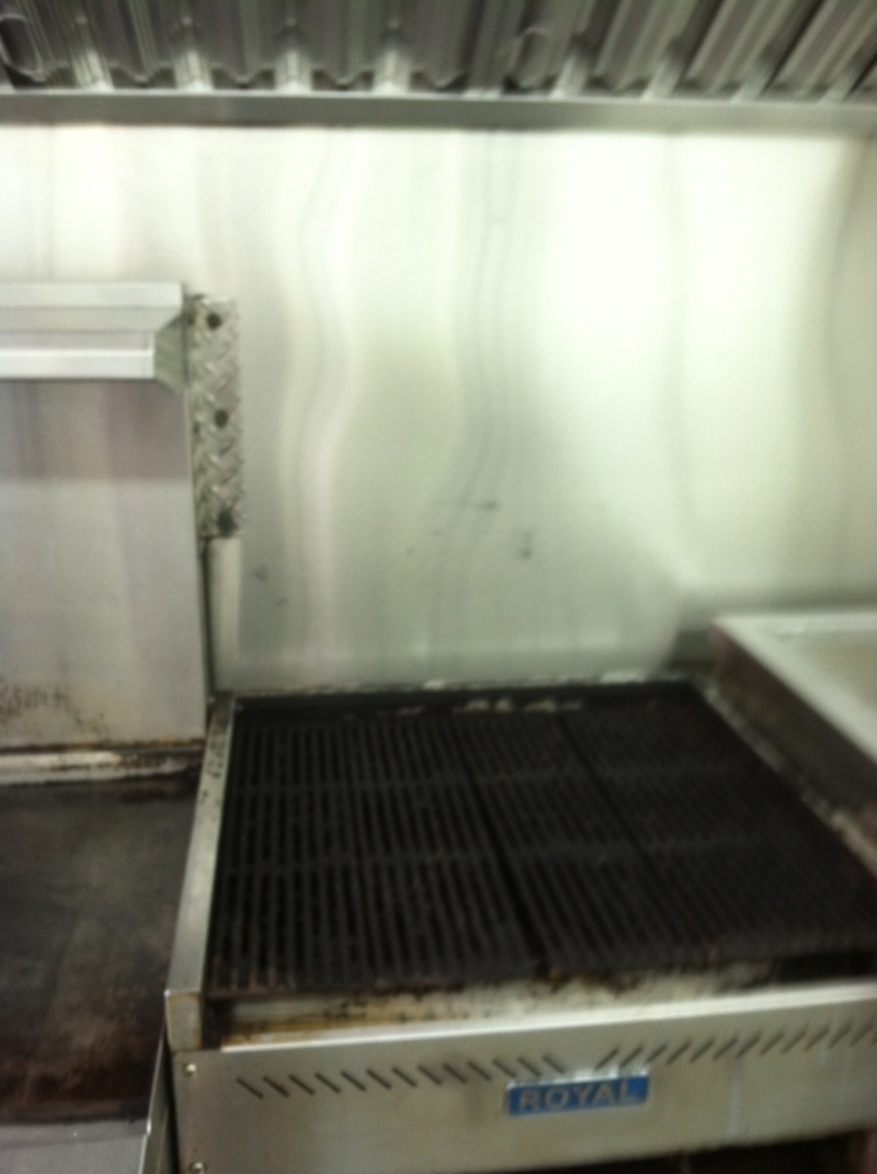 Griddle on Food Truck for Sale